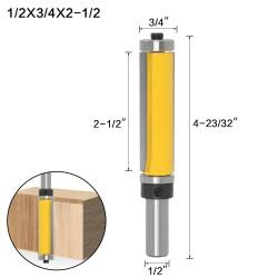 Fresa recta de 63,5 mm (2...
